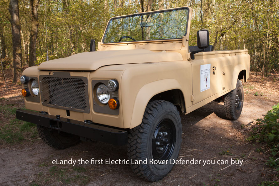 Specifications Fully Electric Land Rover Defender